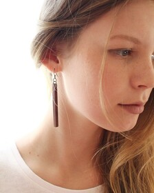 X - Ancient Swamp Kauri Earrings