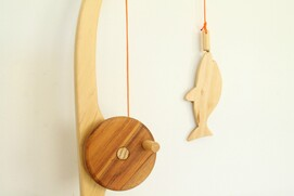 F - Wooden Fishing Set