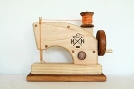 S - Wooden Toy Sewing Machine